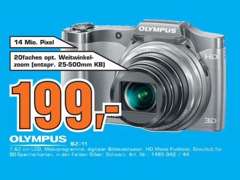 Olympus SZ-11 ©Saturn