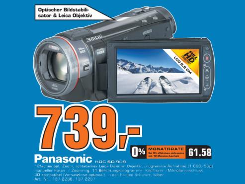 Panasonic HDC-SD909 ©Saturn