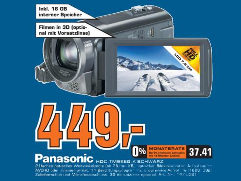 Panasonic HDC-TM99 ©Saturn