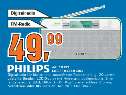 Philips AE9011 © Saturn