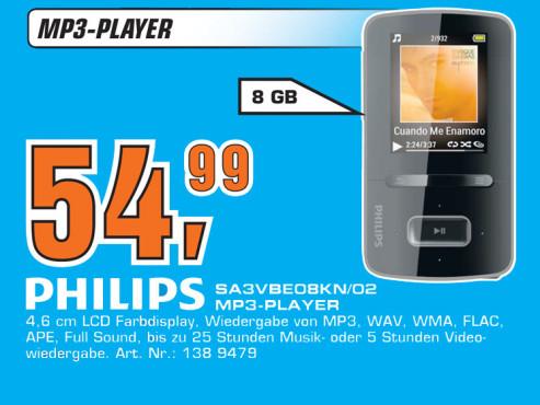 Philips SA3VBE08KN ©Saturn