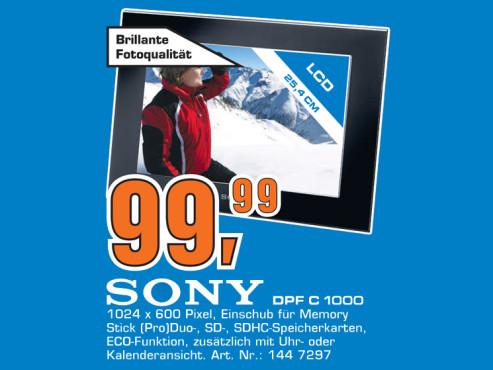 Sony DPF-C1000 ©Saturn