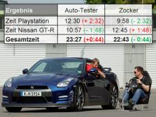 Total abgefahren: Plötzlich ist Gran Turismo 5 Wirklichkeit! ©AUTO BILD/Sven Krieger