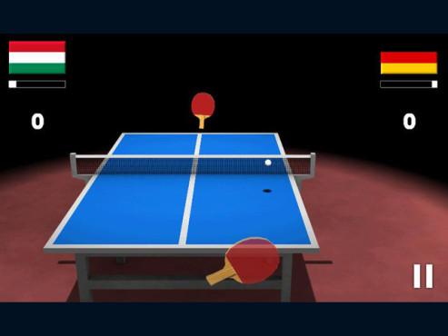 Virtual Table Tennis 3D ©Clapfoot Inc.