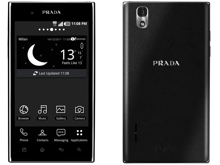Luxus-Smartphone mit Android: Prada Phone by LG 3.0 ...