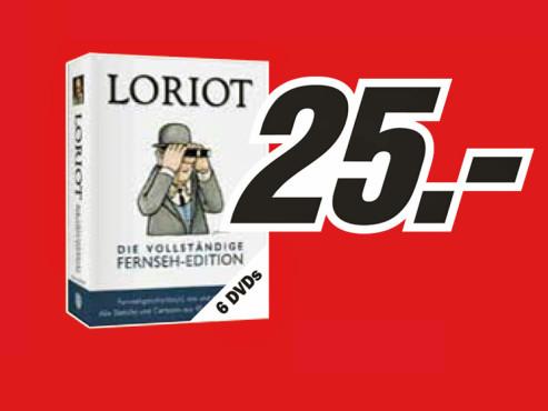 Loriot – die vollständige Fernseh-Edition ©Media Markt