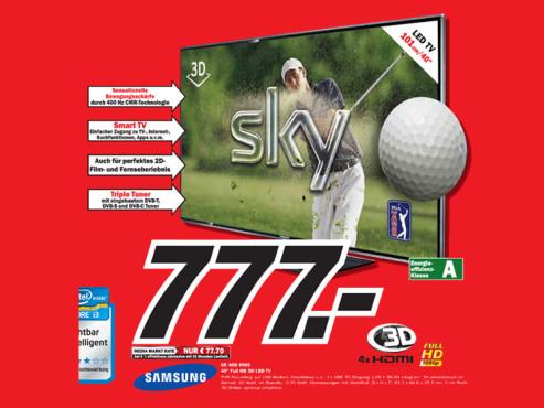Samsung UE40D6500 ©Media Markt