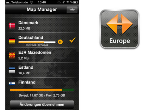 Navigon MobileNavigator Europe ©Navigon AG