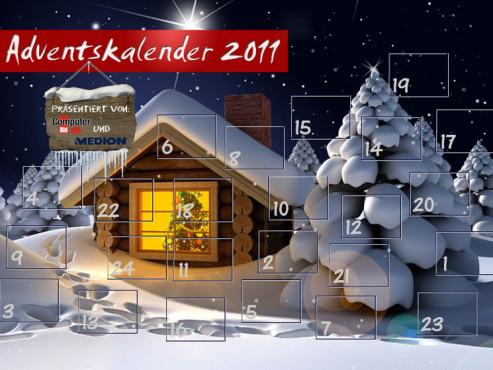 Adventskalender 2011 ©COMPUTER BILD