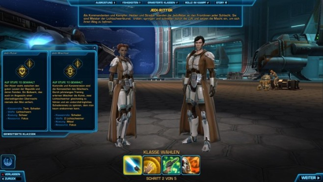 Online-Rollenspiel Star Wars – The Old Republic: Jedi-Ritter © Electronic Arts