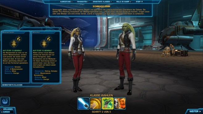 Online-Rollenspiel Star Wars – The Old Republic: Schmuggler © Electronic Arts