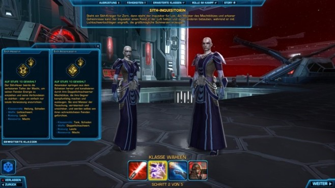 Online-Rollenspiel Star Wars – The Old Republic: Sith-Inquisitor © Electronic Arts