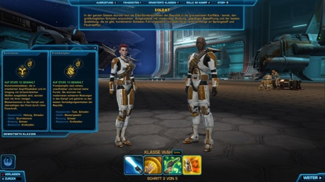 Online-Rollenspiel Star Wars – The Old Republic: Soldat © Electronic Arts
