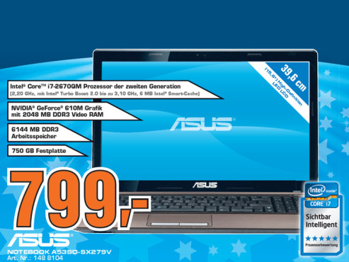 Asus A53SD-SX279V © Saturn