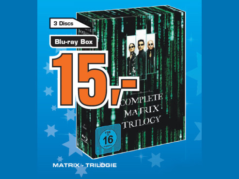 Matrix – Trilogie © Saturn