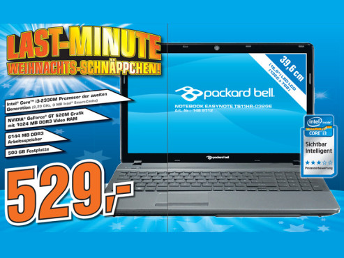 Packard Bell EasyNote TS11HR-032GE © Saturn