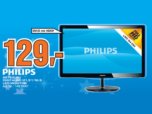 Philips 227E3LSU © Saturn