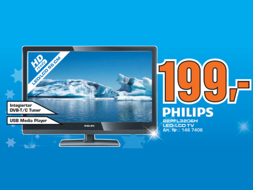 Philips 22PFL3206H © Saturn