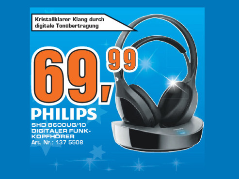Philips SHD8600UG © Saturn