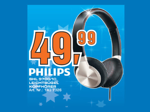 Philips SHL9700 © Saturn