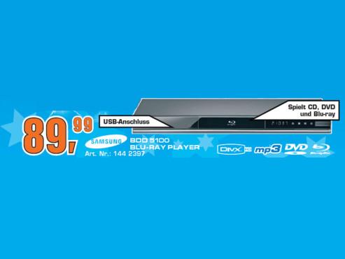 Samsung BD-D5100 ©Saturn