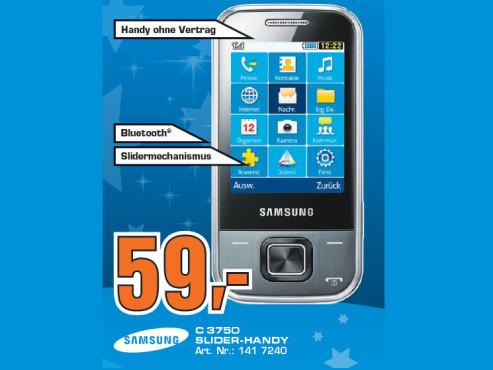 Samsung C3750 ©Saturn