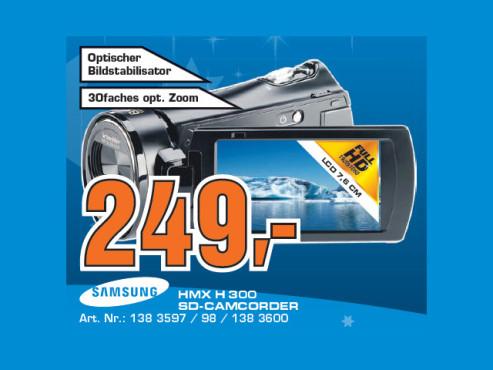 Samsung HMX-H300 ©Saturn