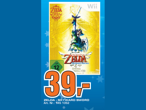 The Legend of Zelda: Skyward Sword (Wii) © Saturn