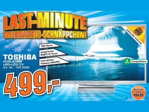 Toshiba 40RL838G ©Saturn