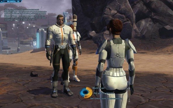 Online-Rollenspiel Star Wars – The Old Republic: Dialog © Electronic Arts