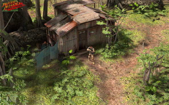 Actionspiel Jagged Alliance – Back in Action: Wald © Bitcomposer Games