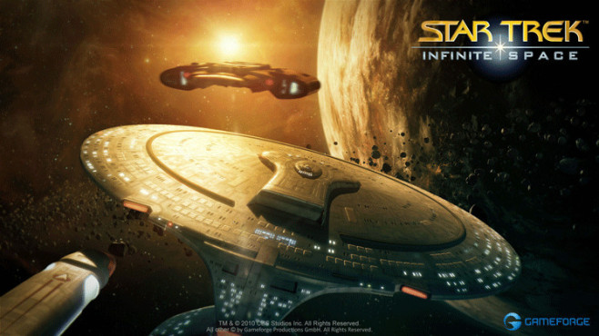 Onlinespiel Star Trek – Infinite Space: Enterprise © Gameforge