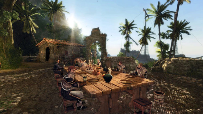 Rollenspiel Risen 2 – Dark Waters © Deep Silver
