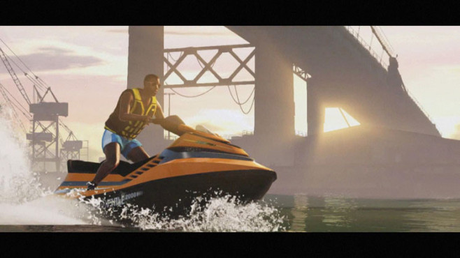 Actionspiel GTA 5: Jetski © Rockstar Games
