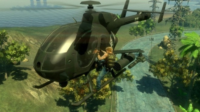 Actionspiel Mercenaries 2: Helikopter © Electronic Arts
