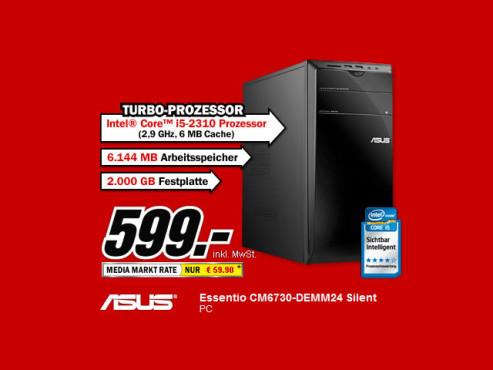 Asus Essentio CM6730-DEMM24 Silent ©Media Markt