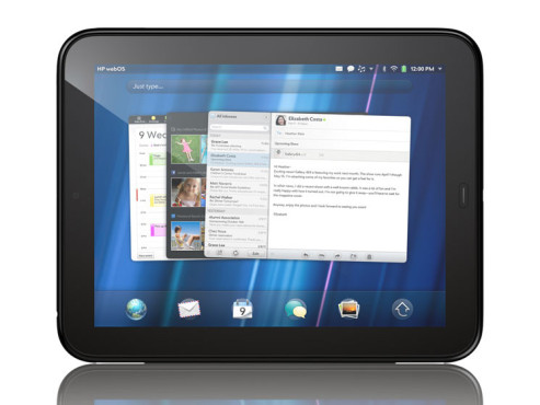 Tablet-PC HP Touchpad © Hewlett-Packard