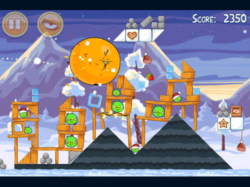Angry Birds Seasons © Rovio Mobile Ltd.