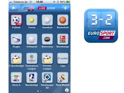 Eurosport Live Score ©Eurosport