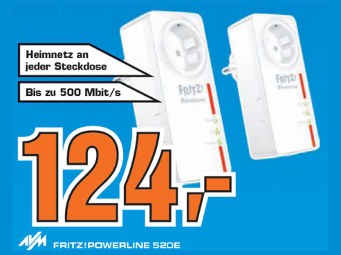 AVM FRITZ!Powerline 520E © Saturn