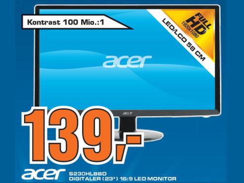Acer S230HLB ©Saturn