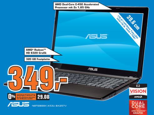 Asus A53U-SX257V ©Saturn