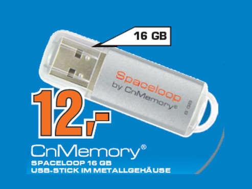 CnMemory Spaceloop 16GB © Saturn