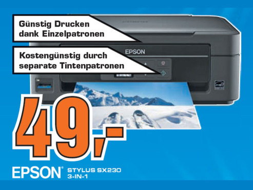 Epson Stylus SX230 ©Saturn