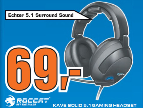 Roccat Kave Solid 5.1 (ROC-14-500) © Saturn