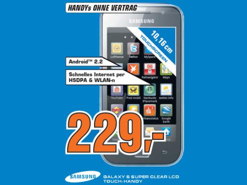 Samsung Galaxy SL (i9003) ©Saturn