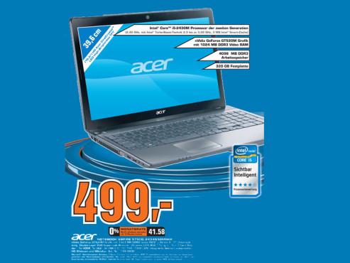 Acer Aspire 5750G-2434G32MNKK ©Saturn