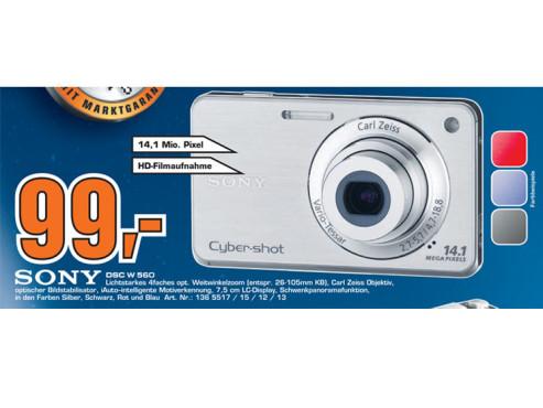 Sony Cybershot DSC-W560 ©Saturn