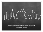 Apple Education Event © The Verge