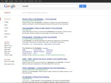 Google Hits für Suchbegriff Browser ©COMPUTER BILD